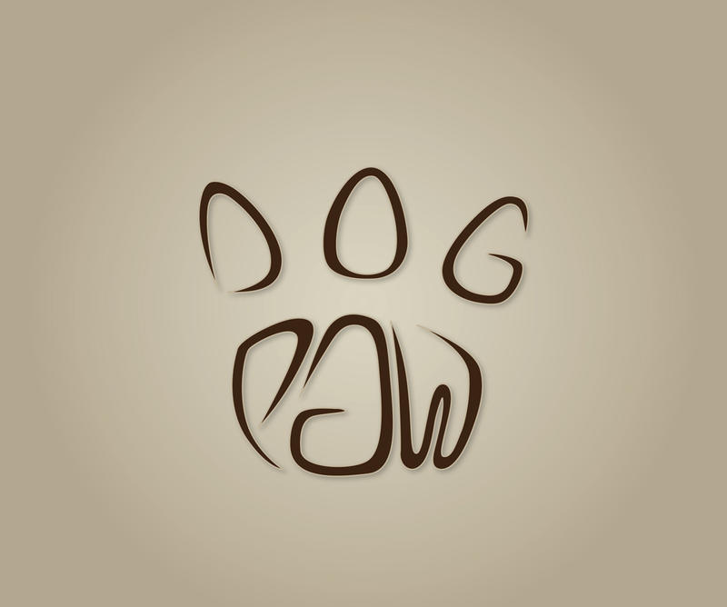 Dog Paw du Logo Dog Paw Logo by Lonuska