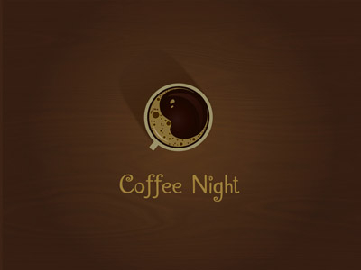 Coffee Night logo by lonuska