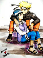 Naruto Loves Hinata by deansterf