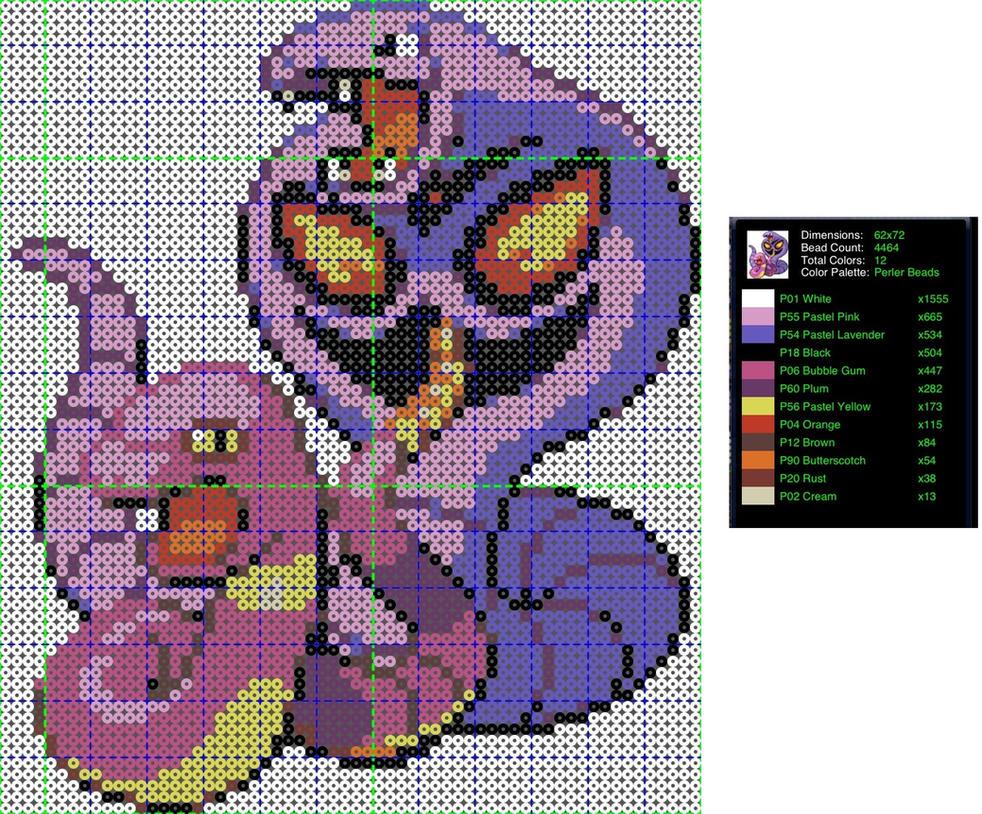 Pokemon Perler Bead Pattern: Ekans and Arbok by ...