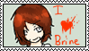 Herobrine Stamp by TheJokersCards