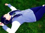 Hinata In the Grass