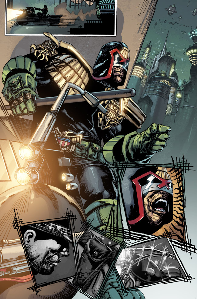 Judge Dredd issue 13 by stockyboy