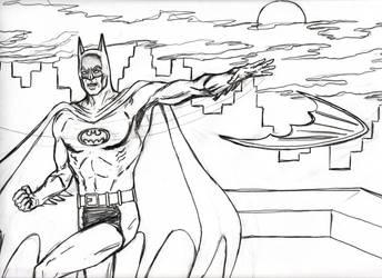 Jos Luis Garca-Lpez Inspired Batman by CharmingCurmudgeon