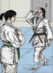 Tracey Does Judo Practice With A Gal Pal 003 by CharmingCurmudgeon