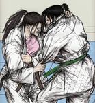 Friendly Judo Randori Between Gal Pals 012 by CharmingCurmudgeon