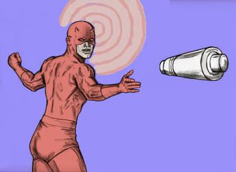 The Scarlet Swashbuckler, Daredevil