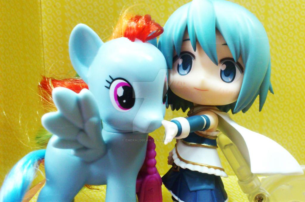 MLP Buddy: Sayaka's RainbowDash by emeraldbeam