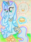 Luna: Yum! Mooncake!