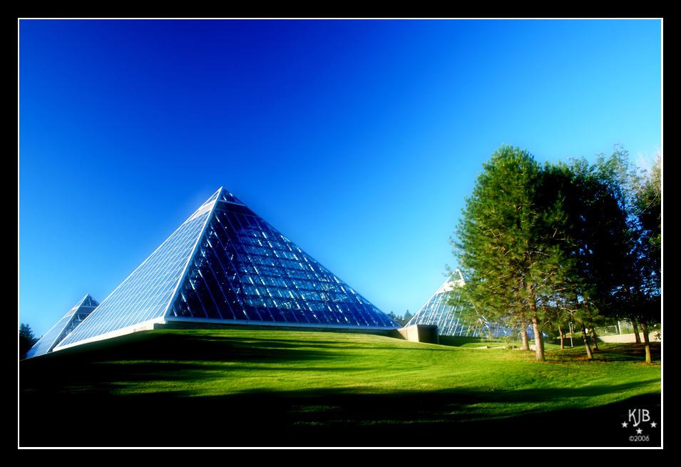 Pyramids by drclaw27