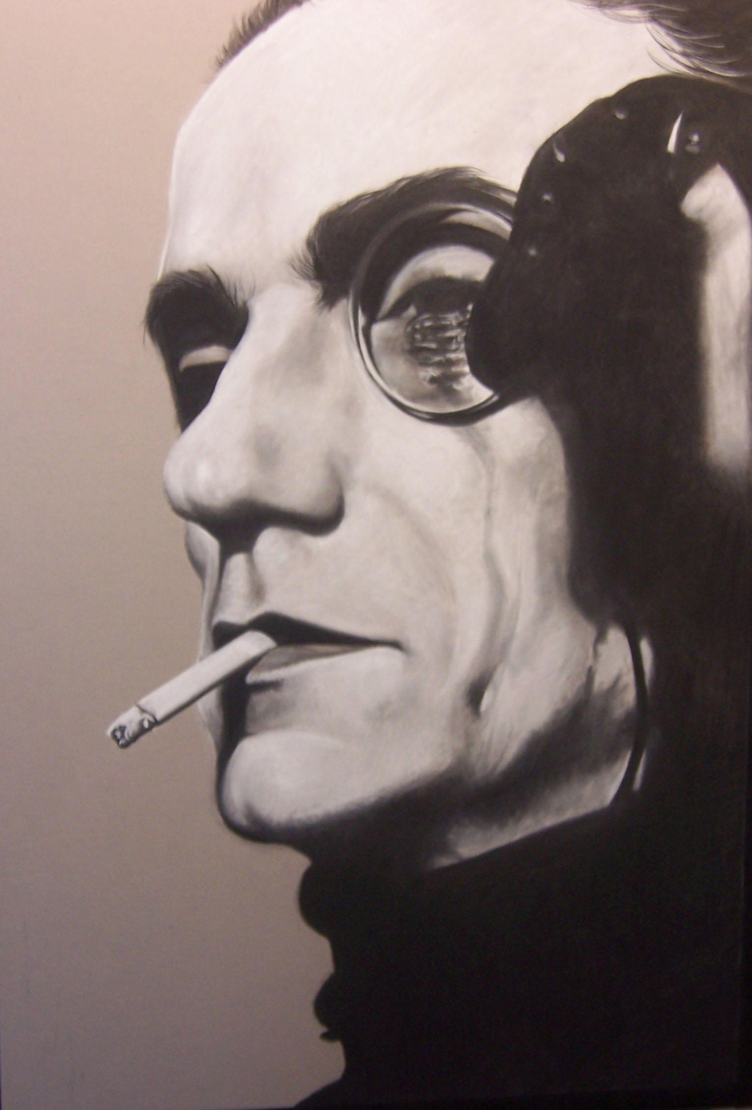 Portrait of Jeremy Irons by NecronomVI