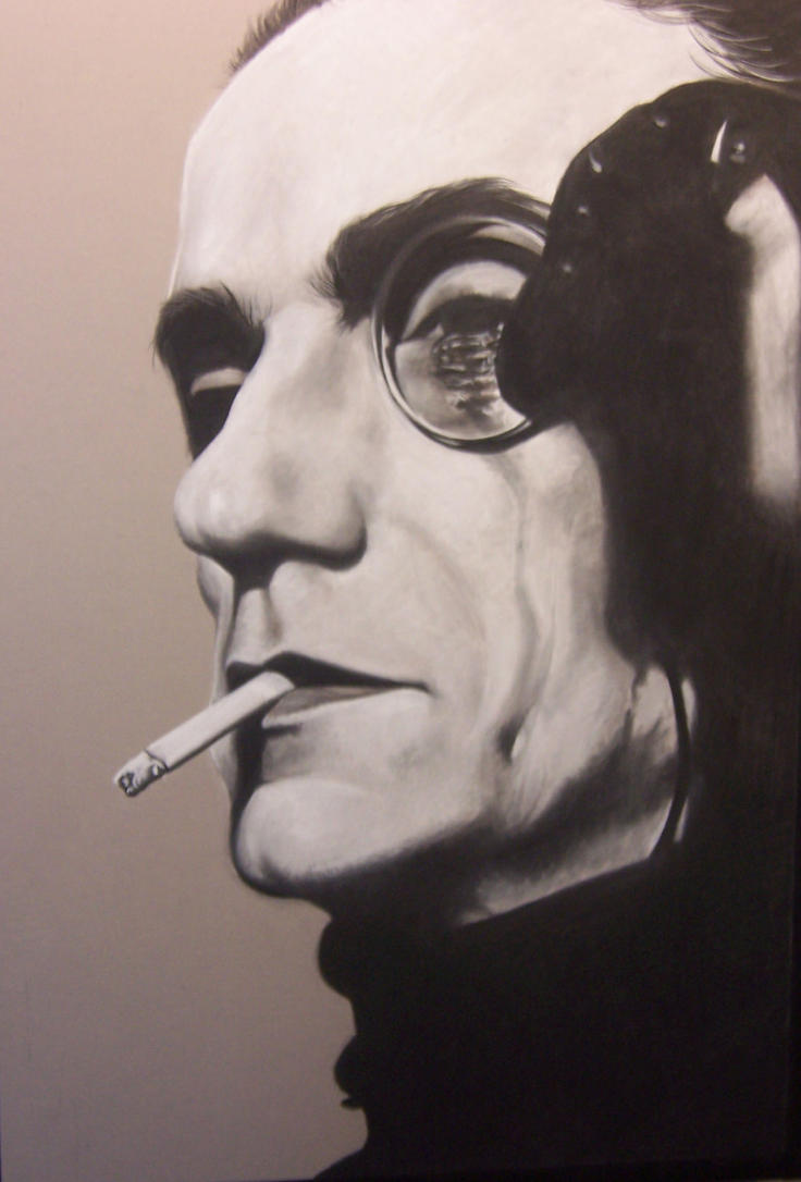 Portrait of Jeremy Irons by NecronomVI