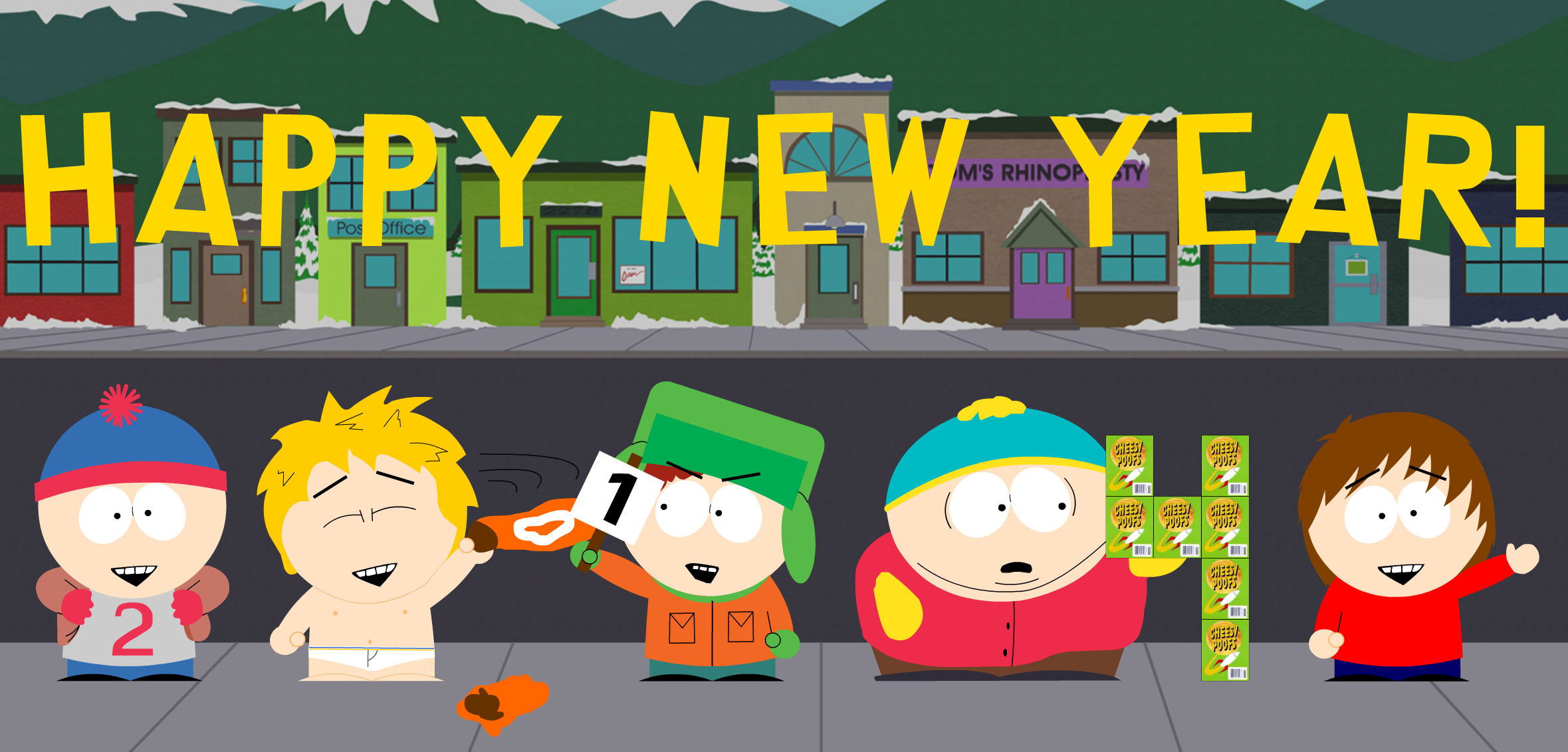 Not south park kenny 4
