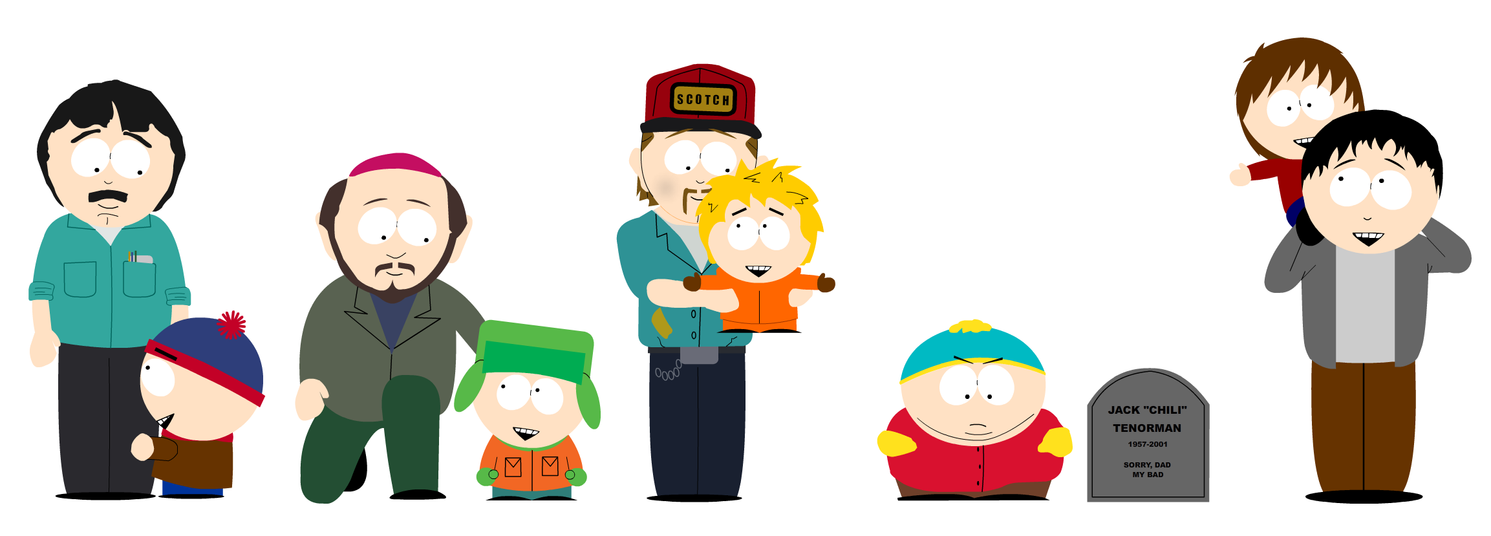 south park cartmans vater