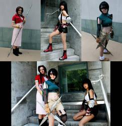 Final Fantasy VII Ladies by bipolar-cosplay