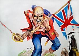 Iron Maiden - Trooper Eddie