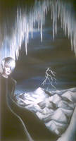 Niflheim - ice and shadows by xblondegothx