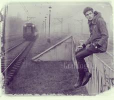Waiting by Grafilogika