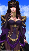 Bridal Tharja - Fire Emblem Heroes by CyberneticKnight