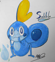 Sobble by TheDrawingMorgs