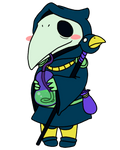 Plague Knight's Sippy Time