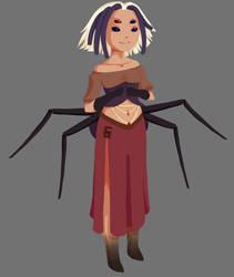 Aranea the Spider Lady~ by DreadedRay
