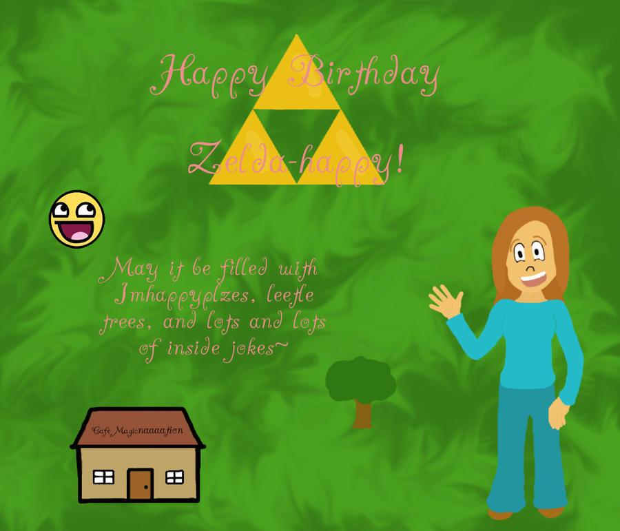 Happy Birthday Zelda-happy by ~Malacia777 on deviantART