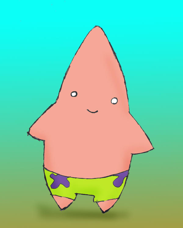 Group Of Cute Funny Patrick Star