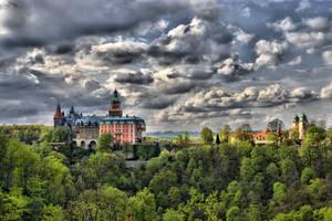 Castle Ksiaz HDR
