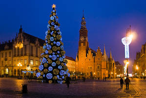 Wroclaw by Night by oktis