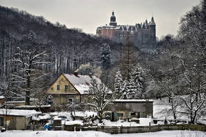 Castle Ksiaz Again by oktis