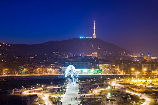 Tbilisi by Night