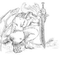 Demon marauder by evilnightmare