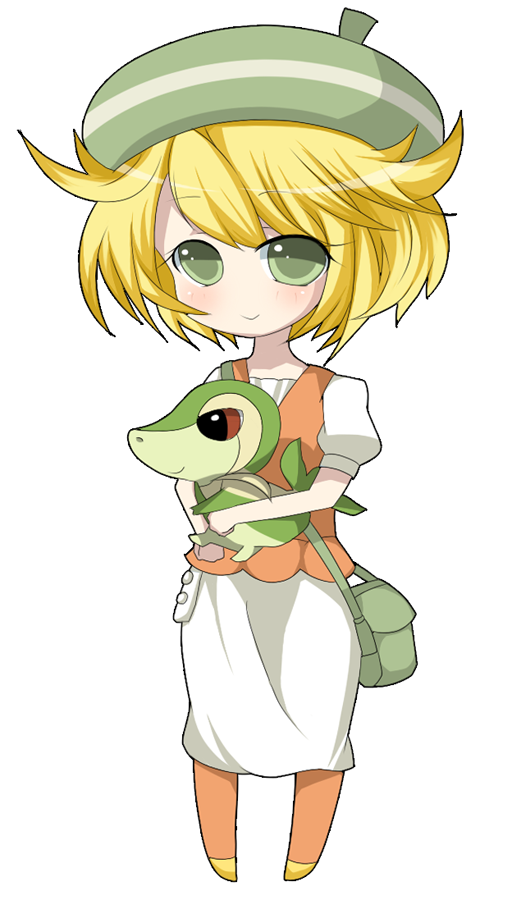 Bianca and Snivy by ruri-chu