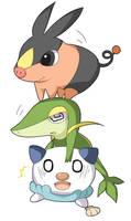 Unova Starter Pokemon