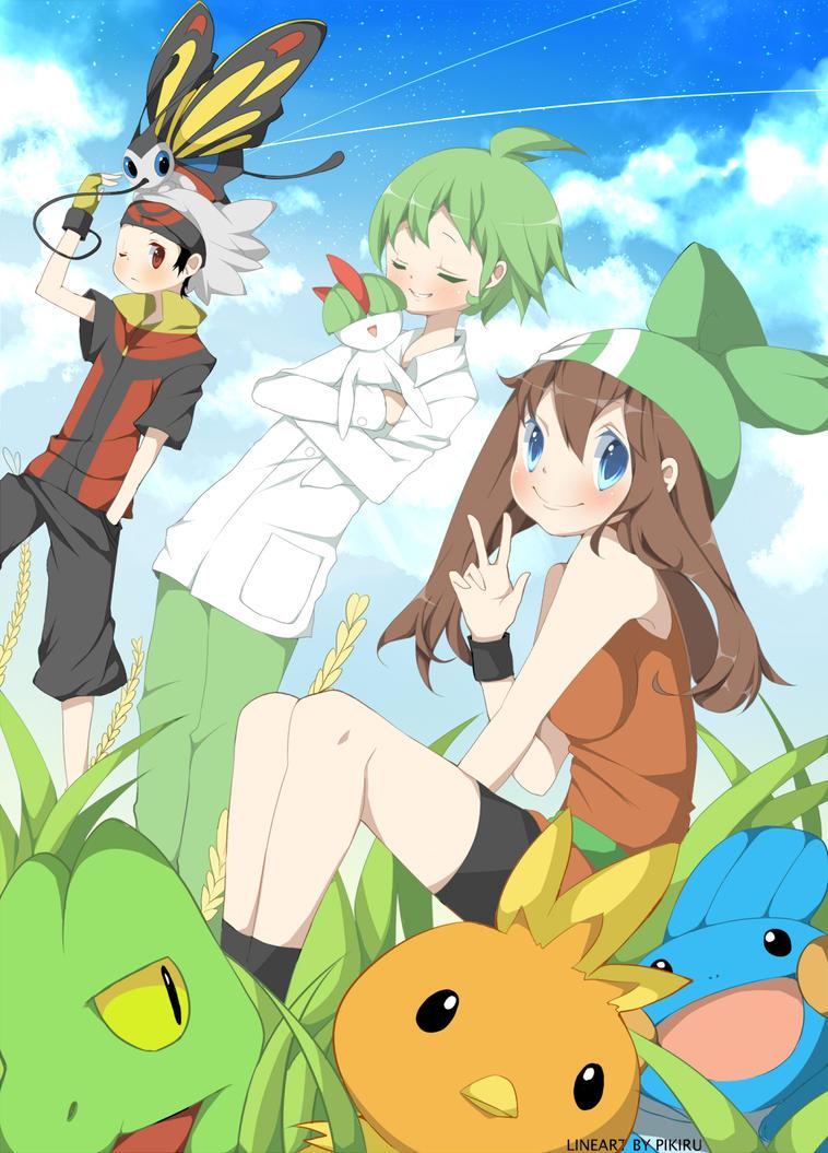 Pokemon Group by ruri-chu