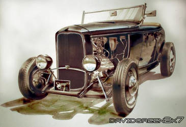 tria hot rod by megadavedesigned