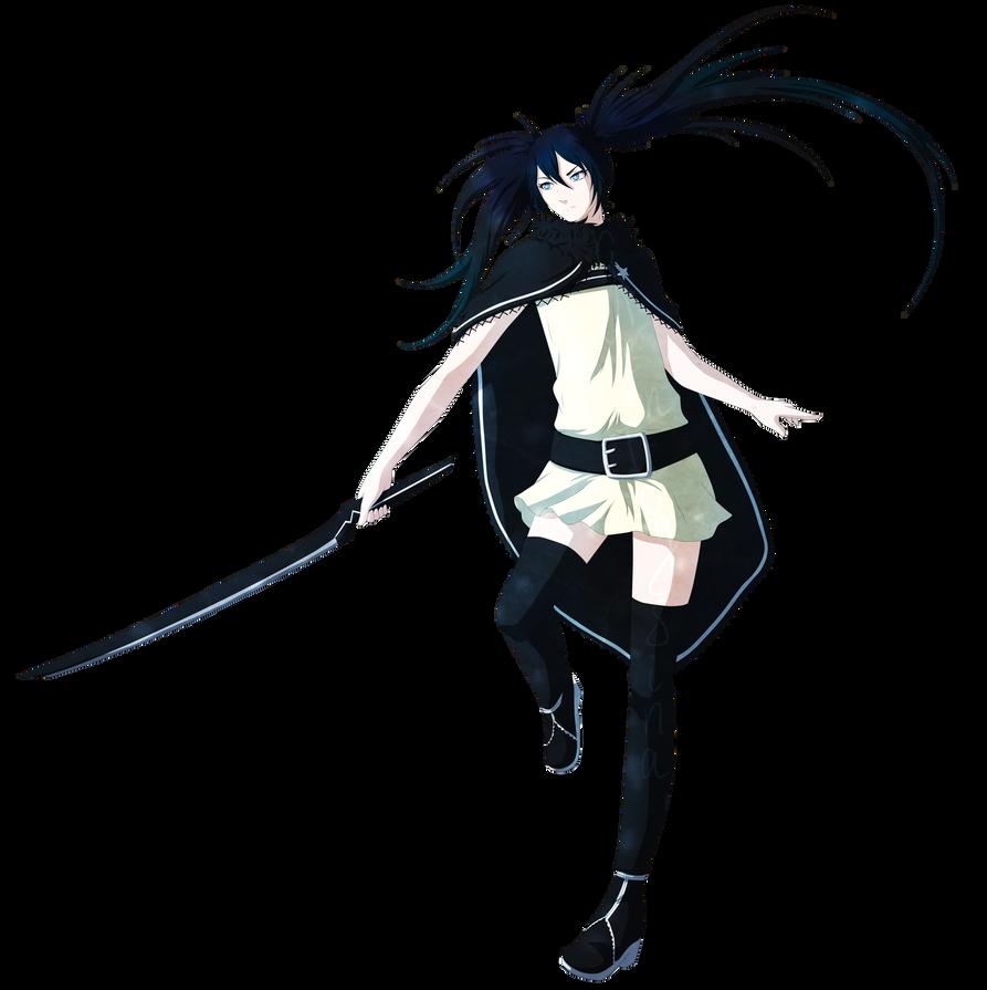 Manga Black Rock Shooter: Innocent Soul By GreenFrogSina On