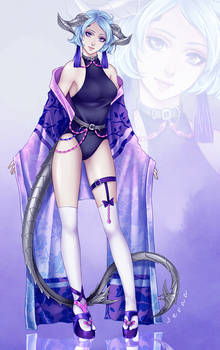 Dragonians Race: Custom OC 001