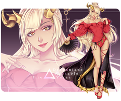[closed] Dragonians Race: Adopt Auction OC 005