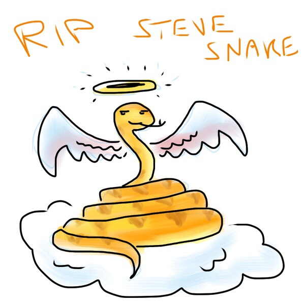 RIP Steve Snake by Kenthayle