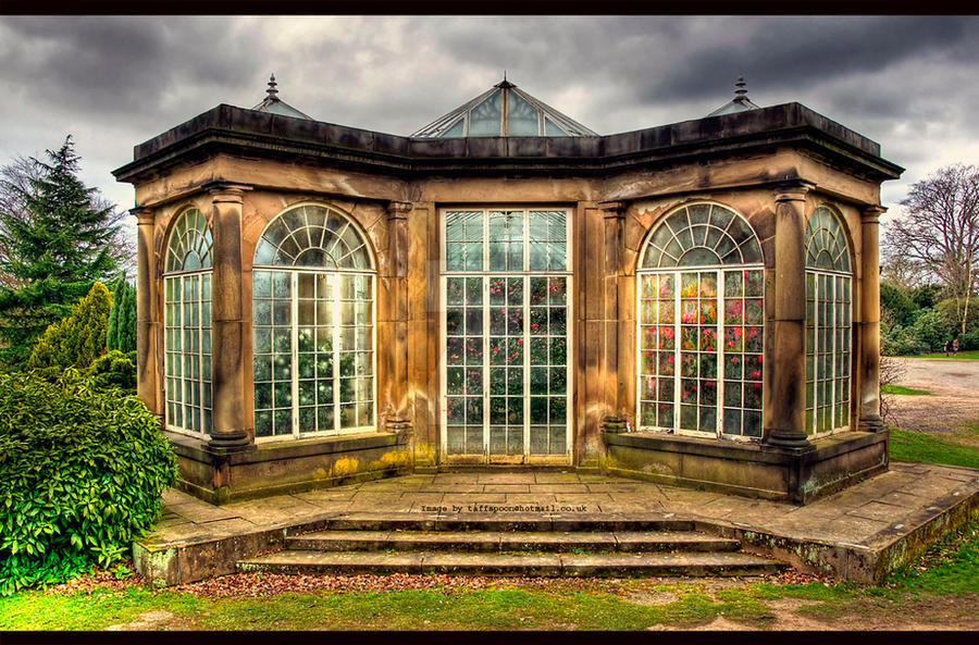 The old greenhouse by garytaffinder on deviantart for Build a victorian greenhouse