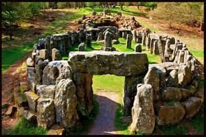 Druids Temple HDR by GaryTaffinder