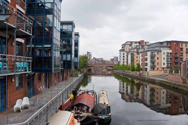 River Aire Leeds by GaryTaffinder
