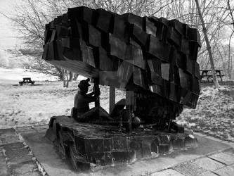 Coal Miners Sculpture by GaryTaffinder