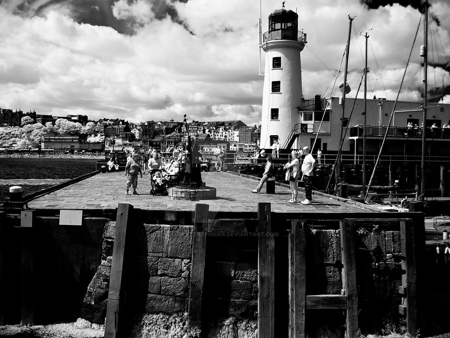 Harbour and Lighthouse by GaryTaffinder