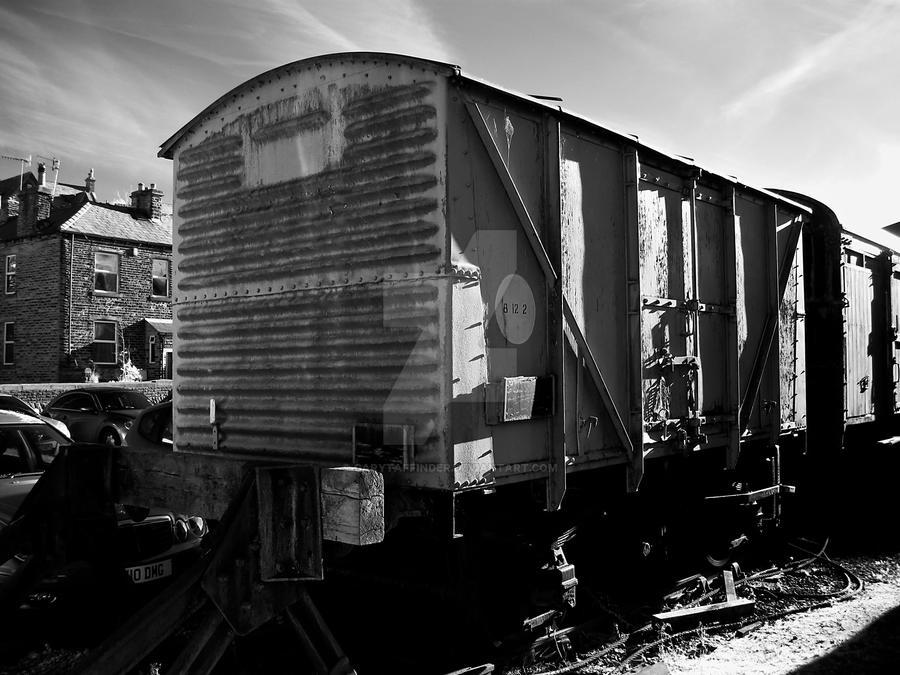 Goods Waggon by GaryTaffinder