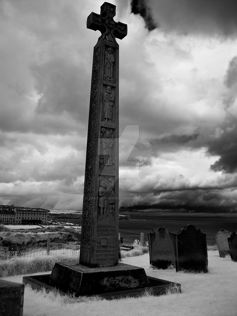 Cross at St Marys - Whitby by GaryTaffinder