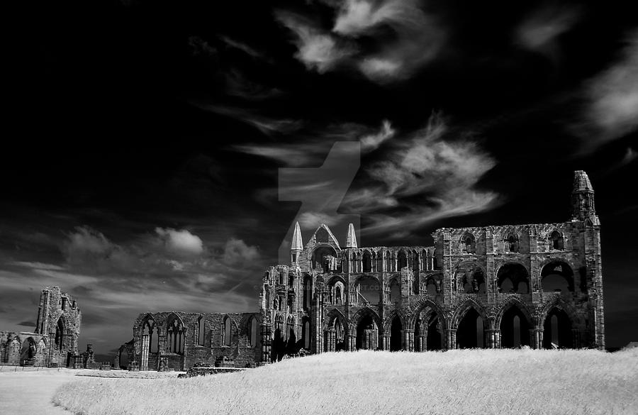 Whitby Abbey (infrared) by GaryTaffinder