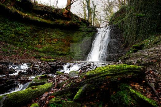Waterfall at Norwood Green.